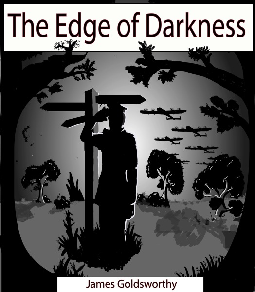 The Edge of Darkness book cover Artist Adam Kelly 29th March 2017