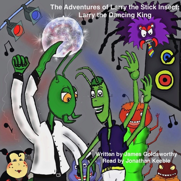 Larry the Dancing King audio book cover art