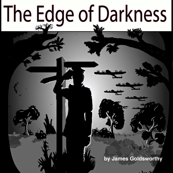 The Edge of Darkness audio book cover art
